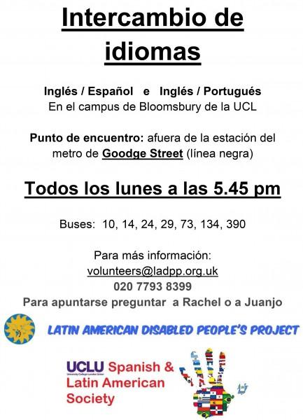 Intercambio de idiomas @ LADPP