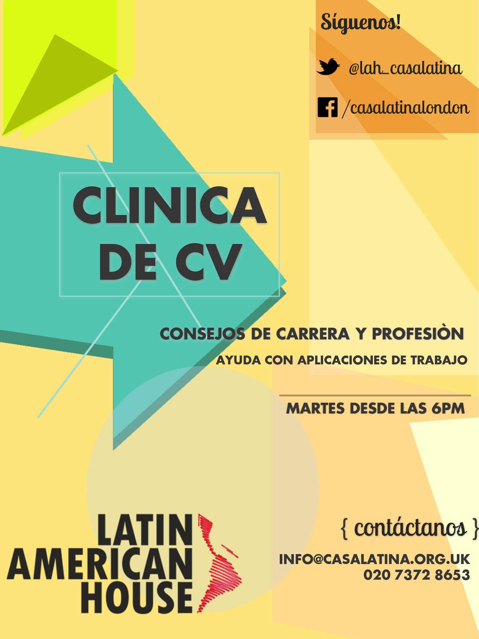 Clínica de CV @ Casa Latinoamericana