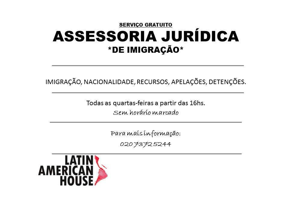 Asesoría Jurídica Imigracao @ Latin American House