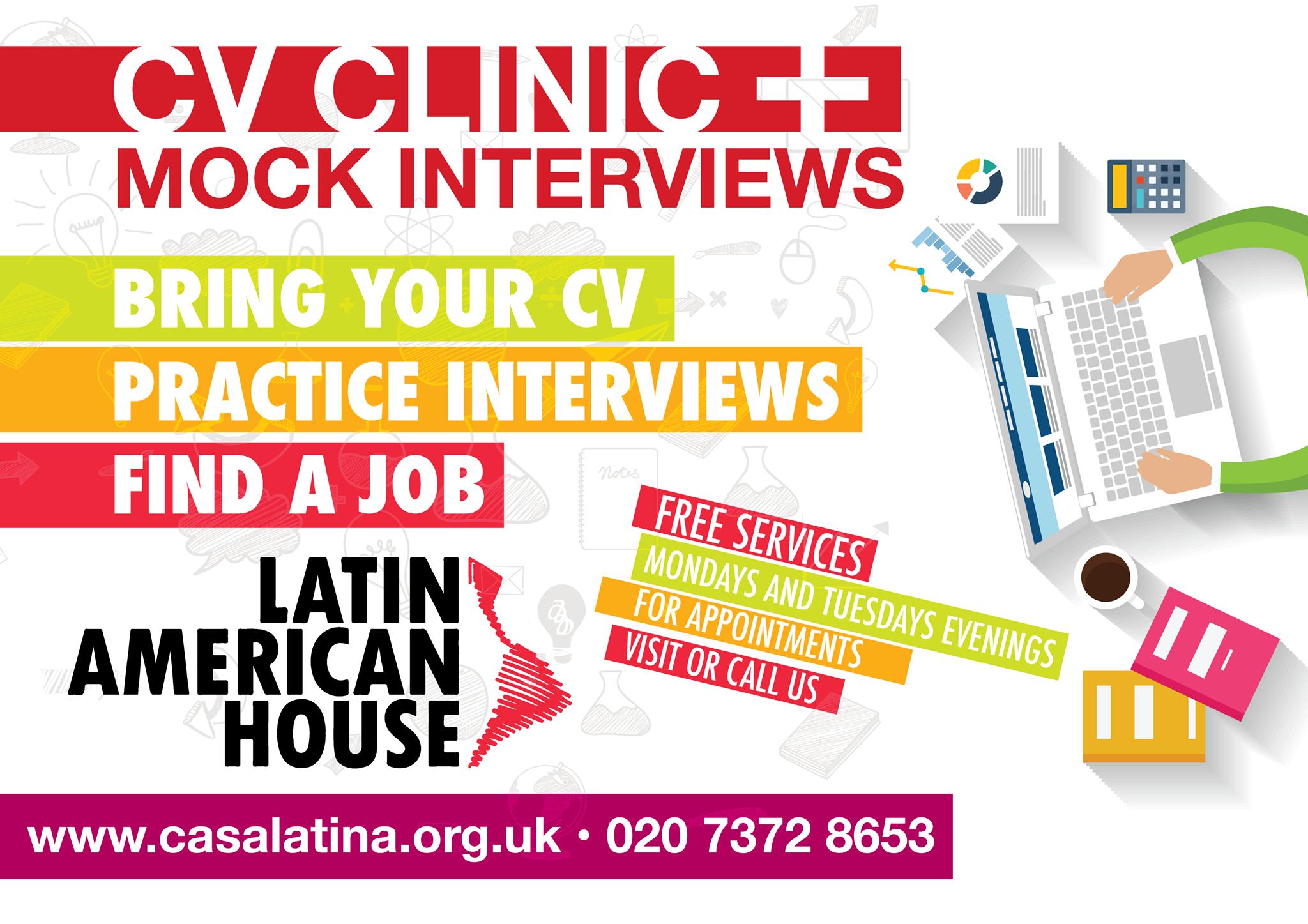 CV Clinic & Interviews